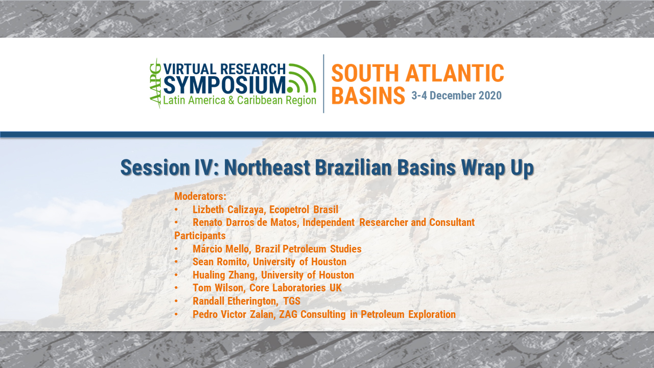 Session IV: Northeast Brazilian Basins Session Wrap-Up