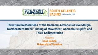Structural Restorations of the Camamu-Almada Passive Margin, Northeastern Brazil: Timing of Movement, Anomalous Uplift, and Thick Sedimentation