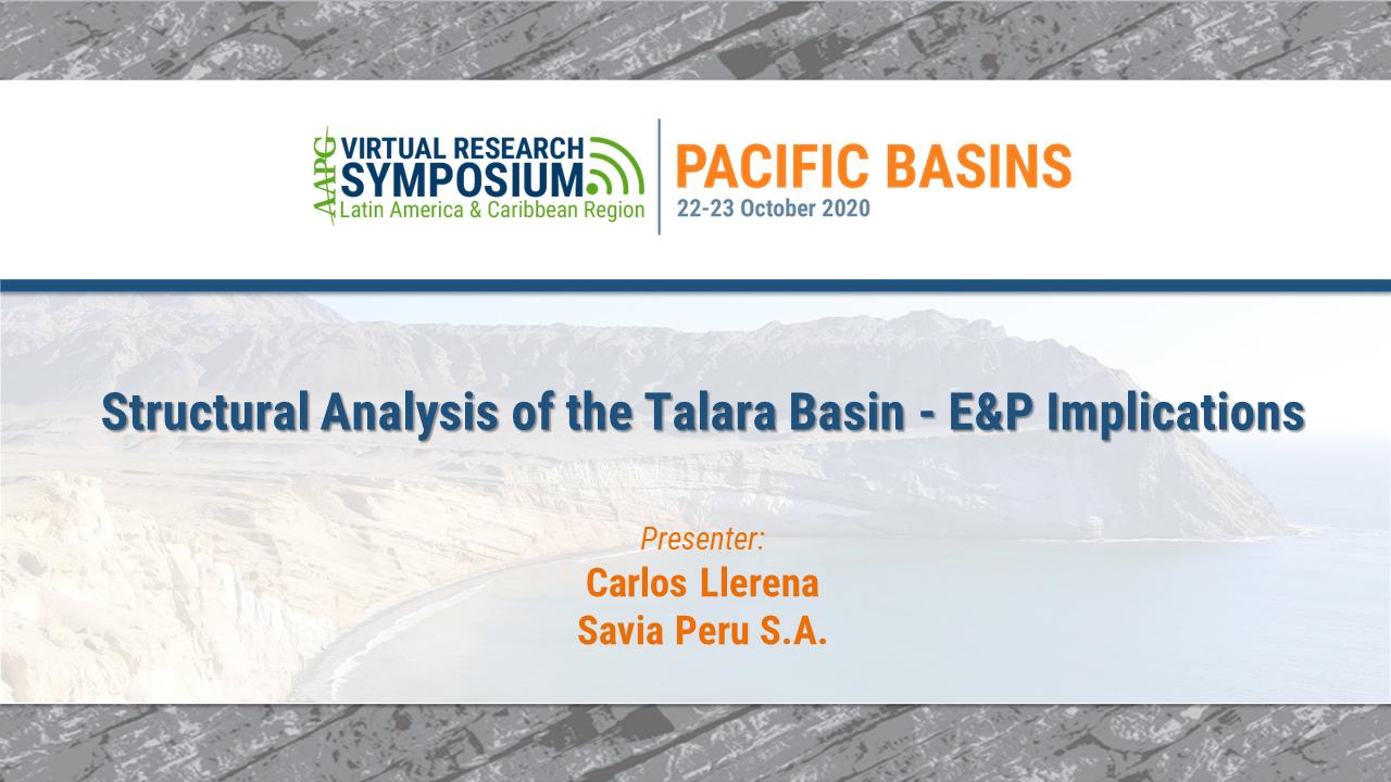 Structural Analysis of the Talara Basin - E&P Implications