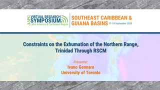 Constraints on the Exhumation of the Northern Range, Trinidad Through RSCM