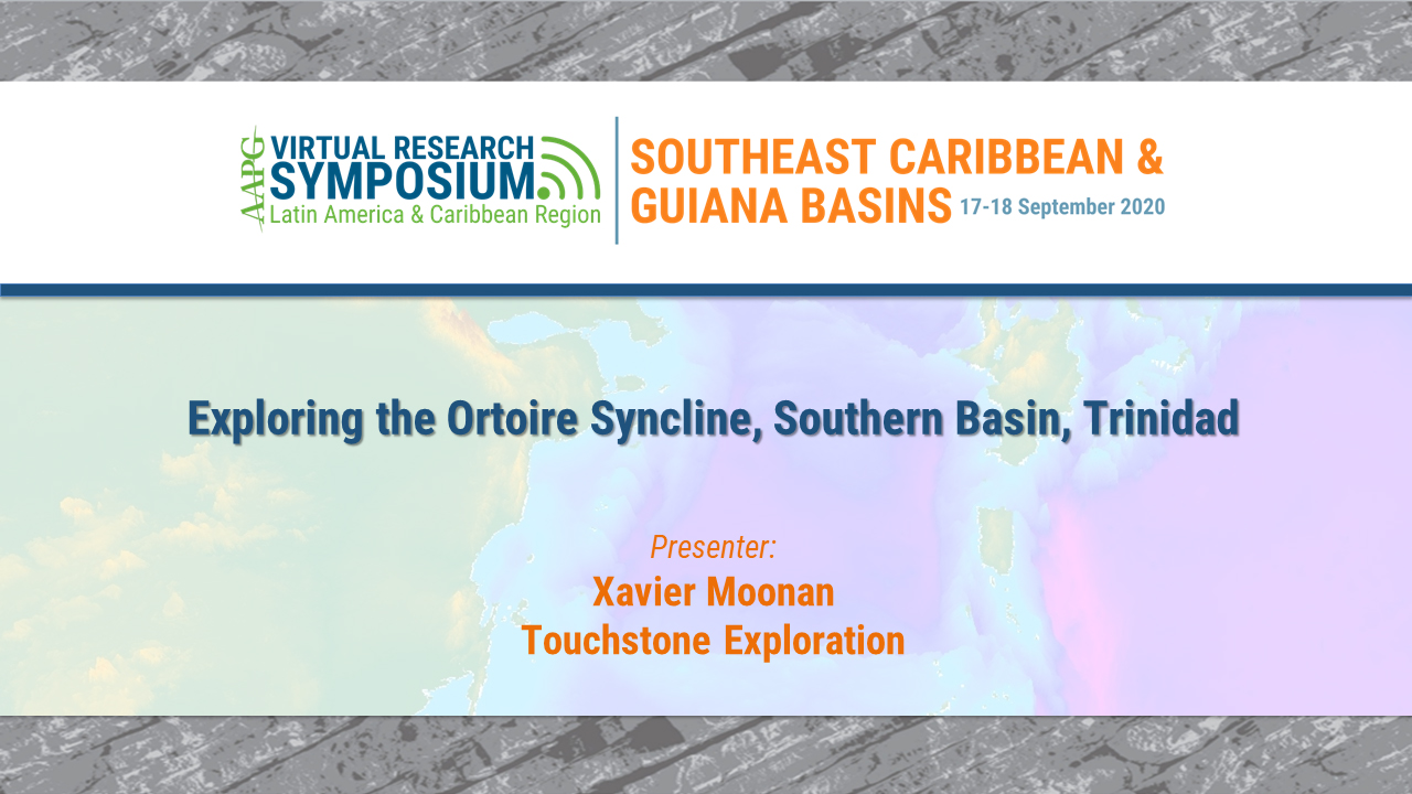 Exploring the Ortoire Syncline, Southern Basin, Trinidad