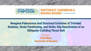Neogene Paleostress And Structural Evolution of Trinidad: Rotation, Strain Partitioning, and Strike-Slip Reactivation of an Obliquely-Colliding Thrust Belt