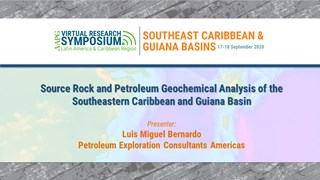 Source Rock and Petroleum Geochemical Analysis of the Southeastern Caribbean and Guiana Basin