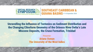 Unravelling the Influence of Tectonics on Sediment Distribution and the Changing Clinoform Geometry of the Orinoco River Delta's Late Miocene deposits, the Cruse Formation, Trinidad