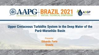 Upper Cretaceous Turbidite System in the Deep Water of the Pará-Maranhão Basin