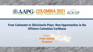 From Carbonate to Siliciclastic Plays: New Opportunities in the Offshore Colombian Caribbean