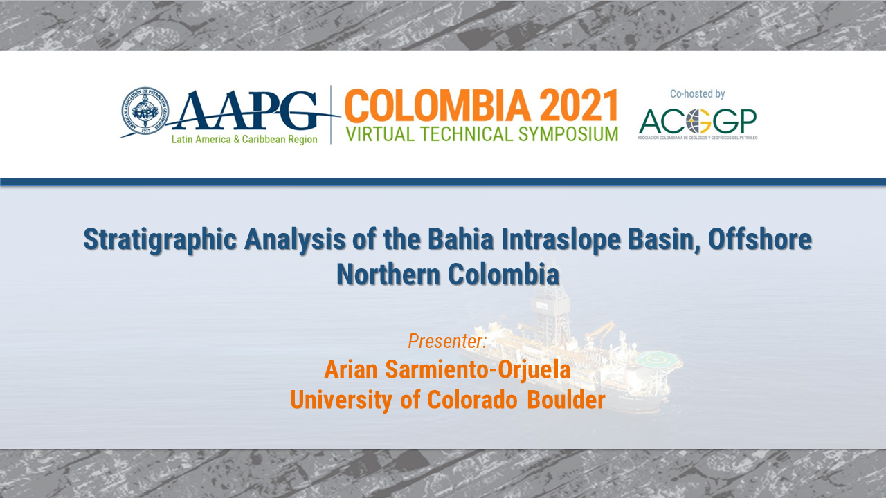 Stratigraphic Analysis of the Bahia Intraslope Basin, Offshore Northern Colombia
