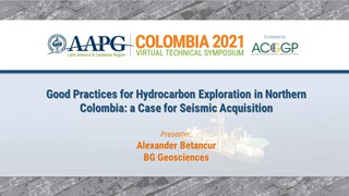 Good Practices for Hydrocarbon Exploration in Northern Colombia: A Case for Seismic Acquisition