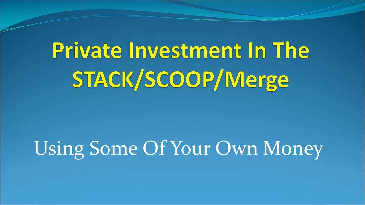 Joe Brevetti - Private Investment in the STACK/SCOOP Using Some of Your Own Money