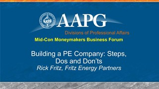 Rick Fritz - Building a PE Company: Steps, Dos, and Don'ts