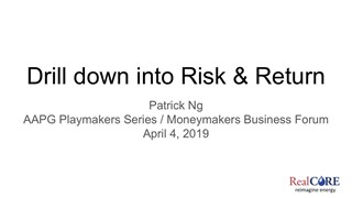 Patrick Ng - Drill Down Into the Risk and the Return Using A Hybrid Model