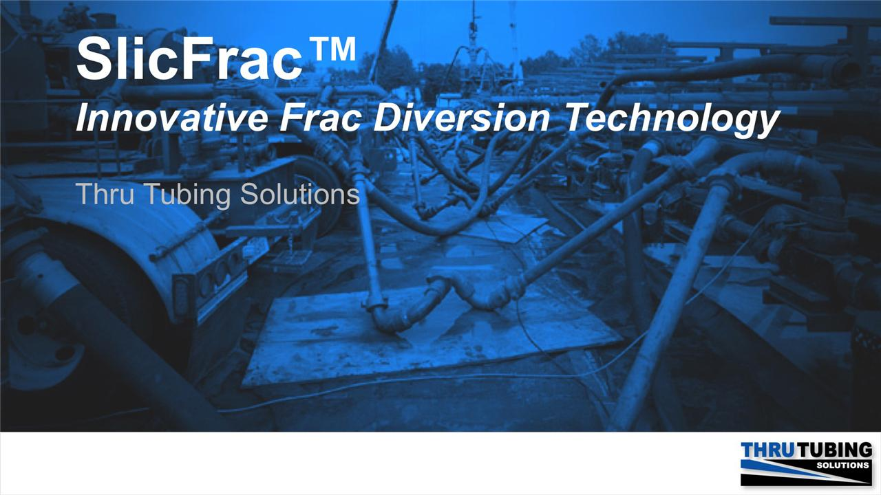 Jenna Robertson - New Mechanical Frac' Diverter Technology - Revolutionizing Long-Lateral Well Economics