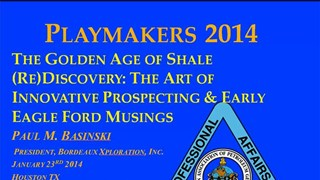 Paul Basinski - The Golden Age of Shale