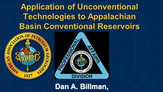 Dan Billman - Application of Unconventional Technologies to Appalachian Basin Conventional Reservoirs