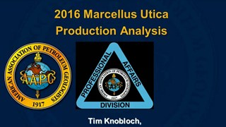 Tim Knobloch - 2016 Marcellus Utica Production Analysis