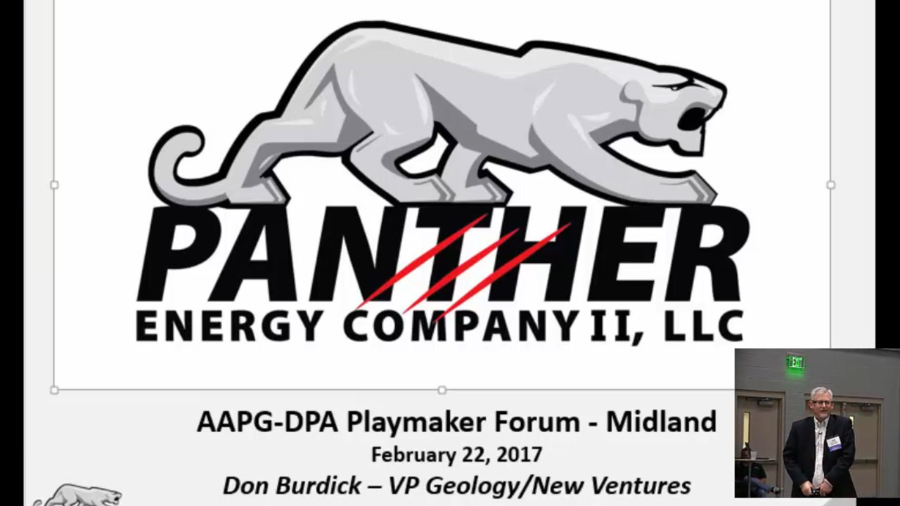 Donald G. Burdick - Building an Asset in Uncertain Times: The Panther Energy Delaware Basin Story