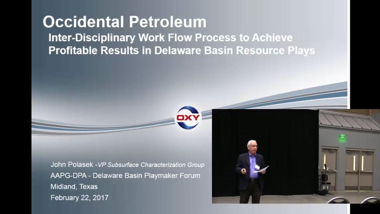 John Polasek - Oxy's Interdisciplinary Method to Improve Well Performance and Achieve Profitable Production Growth