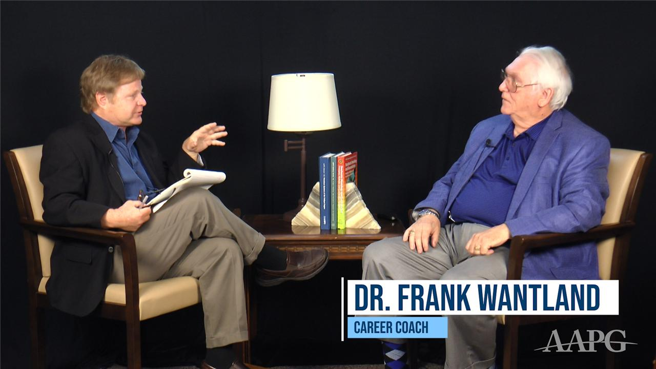 Career Talk with Frank Wantland, Part 1