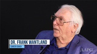 Career Talk with Frank Wantland, Part 2