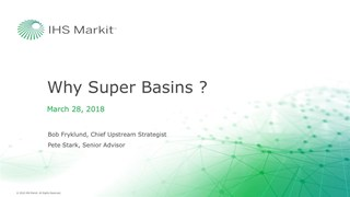 Bob Fryklund - Keynote: Why Super Basins?
