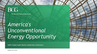 David Gee - America's Unconventional Energy Opportunity