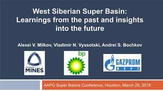 Alexei Milkov - West Siberian Super Basin: Learnings from the past and insights into the future