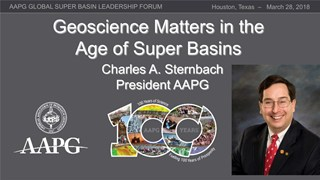Charles Sternbach - Geoscience Matters in the Age of Super Basins
