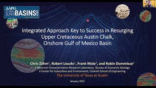Chris Zahm - Integrated Approach is Key to Success in the Resurging Upper Cretaceous Austin Chalk, Onshore Gulf of Mexico Basin