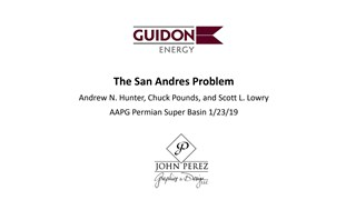 Andrew N. Hunter - The San Andres Problem - Shallow Disposal Has Become the Biggest Drilling Hazard in the Midland Basin
