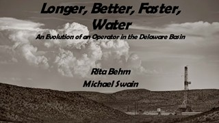 Michael Swain and Rita Behm - Longer, Better, Faster, Water