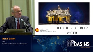 Martin Stauble - The Future of Deepwater Exploration