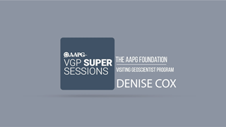 Visiting Geoscientist Super Sessions - Denise Cox