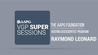 Visiting Geoscientist Super Sessions - Raymond Leonard