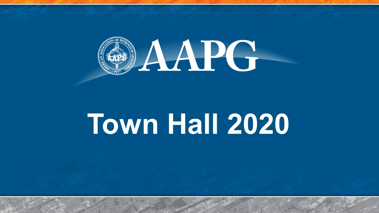 AAPG Virtual Town Hall 2020 - Part I