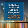 3rd Edition: AAPG/SPE E&P Data Management