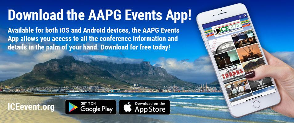 Download the AAPG Events App