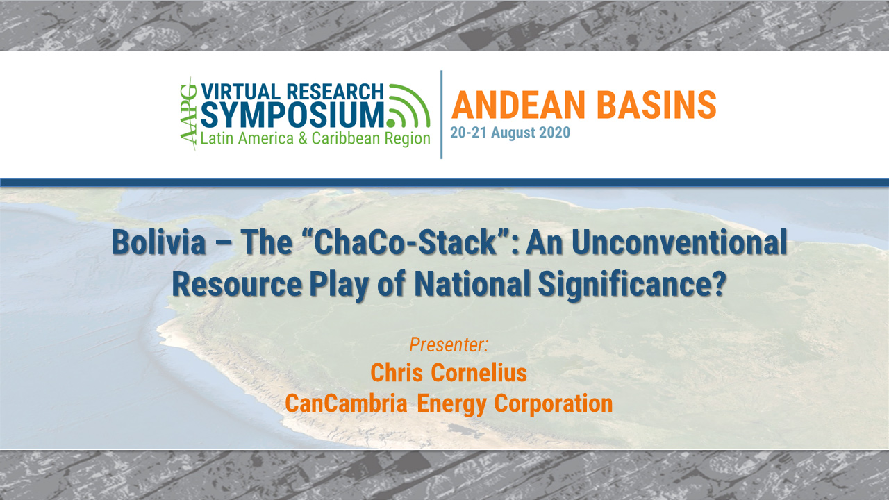 "Bolivia – The ""ChaCo-Stack"": An Unconventional Resource Play of National Significance?"