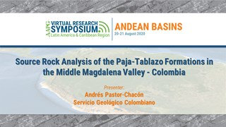 Source Rock Analysis of the Paja-Tablazo Formations in the Middle Magdalena Valley - Colombia