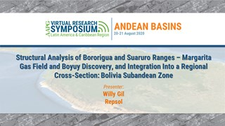Structural Analysis of Bororigua and Suaruro Ranges – Margarita Gas Field and Boyuy Discovery, and Integration into a Regional Cross-Section: Bolivia Subandean Zone