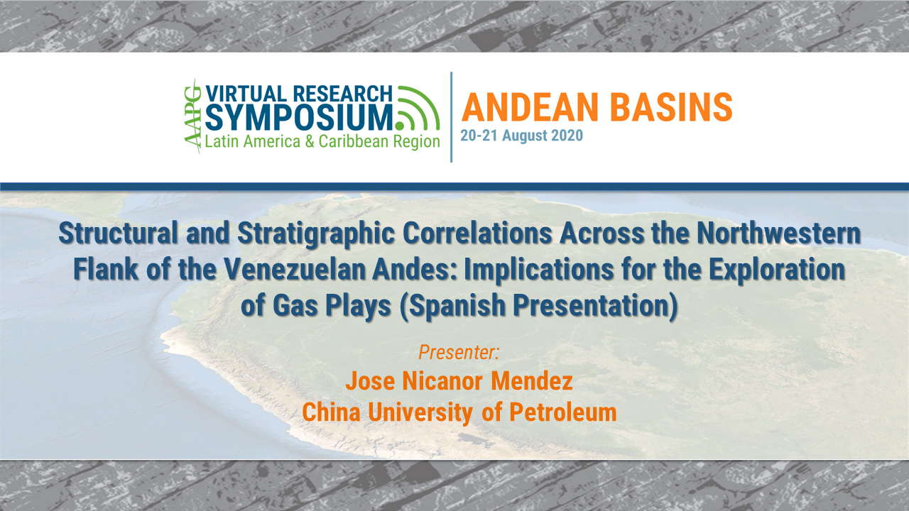 Structural and Stratigraphic Correlations Across the Northwestern Flank of the Venezuelan Andes: Implications for the Exploration of Gas Plays (Spanish Presentation)
