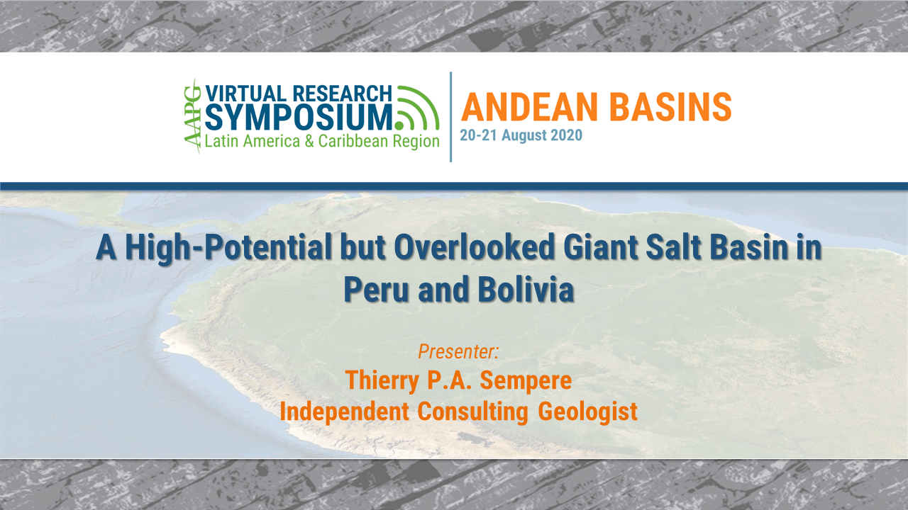 A High-Potential but Overlooked Giant Salt Basin in Peru and Bolivia