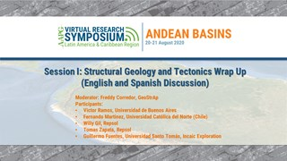 Session I: Structural Geology and Tectonics Wrap Up (English and Spanish Discussion)