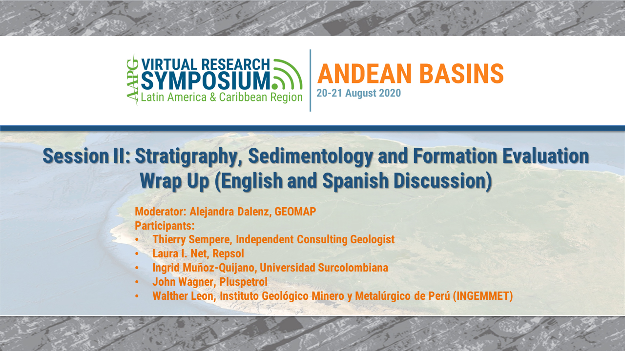 Andes Basin Research Symposium Panel Discussion: Stratigraphy, Sedimentology and Formation Evaluation (English and Spanish Discussion)