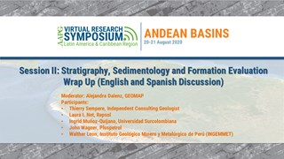 Session II: Stratigraphy, Sedimentology and Formation Evaluation Wrap Up (English and Spanish Discussion)
