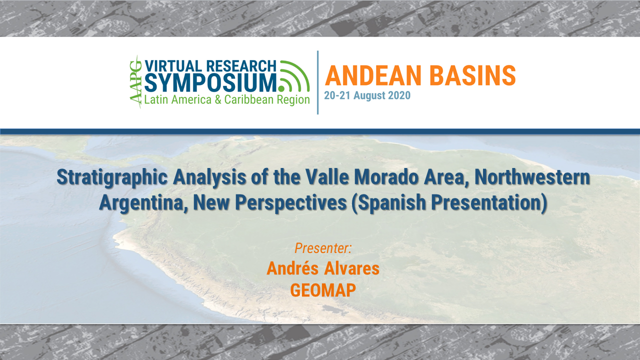 Stratigraphic Analysis of the Valle Morado Area, Northwestern Argentina, New Perspectives (Spanish Presentation)