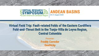 Virtual Field Trip: Fault-related Folds of the Eastern Cordillera Fold-and-Thrust Belt in the Tunja-Villa de Leyva Region, Central Colombia