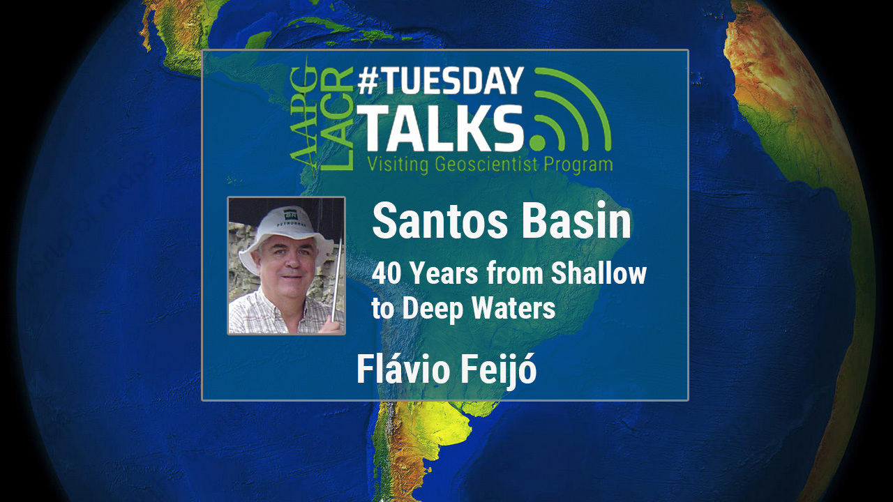 Flávio Feijó - Santos Basin: 40 Years from Shallow to Deep Waters - Portuguese Talk