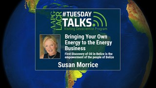 Susan Morrice - Bringing your own Energy to the Energy Business: First Discovery of Oil in Belize is the empowerment of the people of Belize