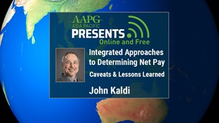 John Kaldi - Integrated Approaches to Determining Net Pay: Caveats & Lessons Learned