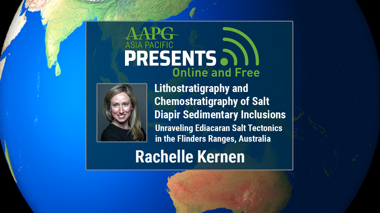 Rachelle Kernen - Lithostratigraphy and Chemostratigraphy of Salt Diapir Sedimentary Inclusions: Unraveling Ediacaran Salt Tectonics in the Flinders Ranges, Australia